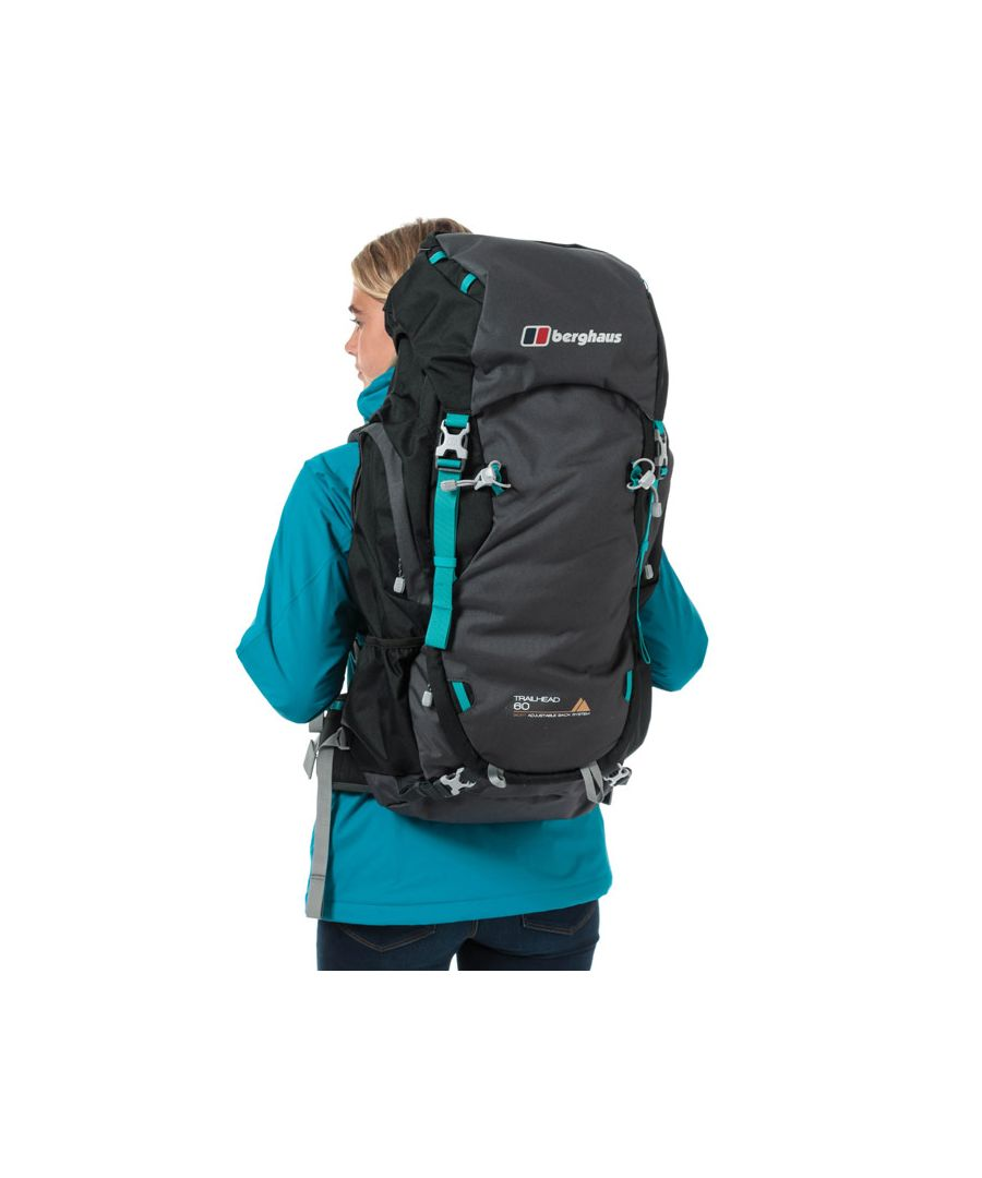 Image for Accessories Berghaus Trailhead 60 Bronze Rucksack in Grey black