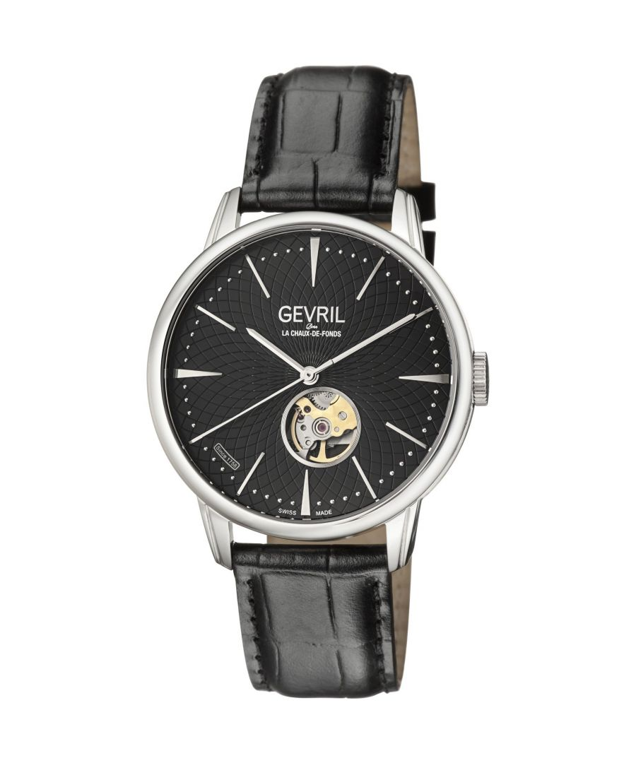 Image for Gevril 9600 Mulberry Watch