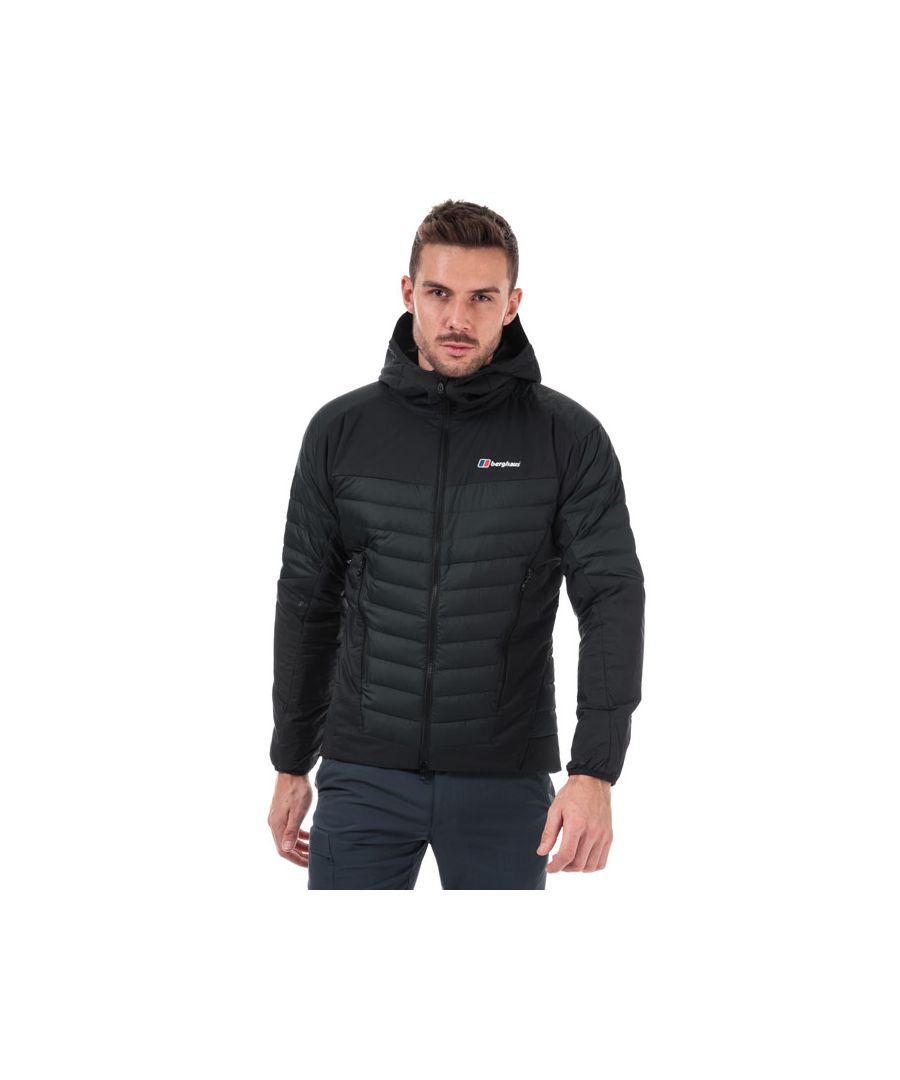 Image for Men's Berghaus Ulvetanna Hybrid 2.0 Down Insulated Jacket in Black