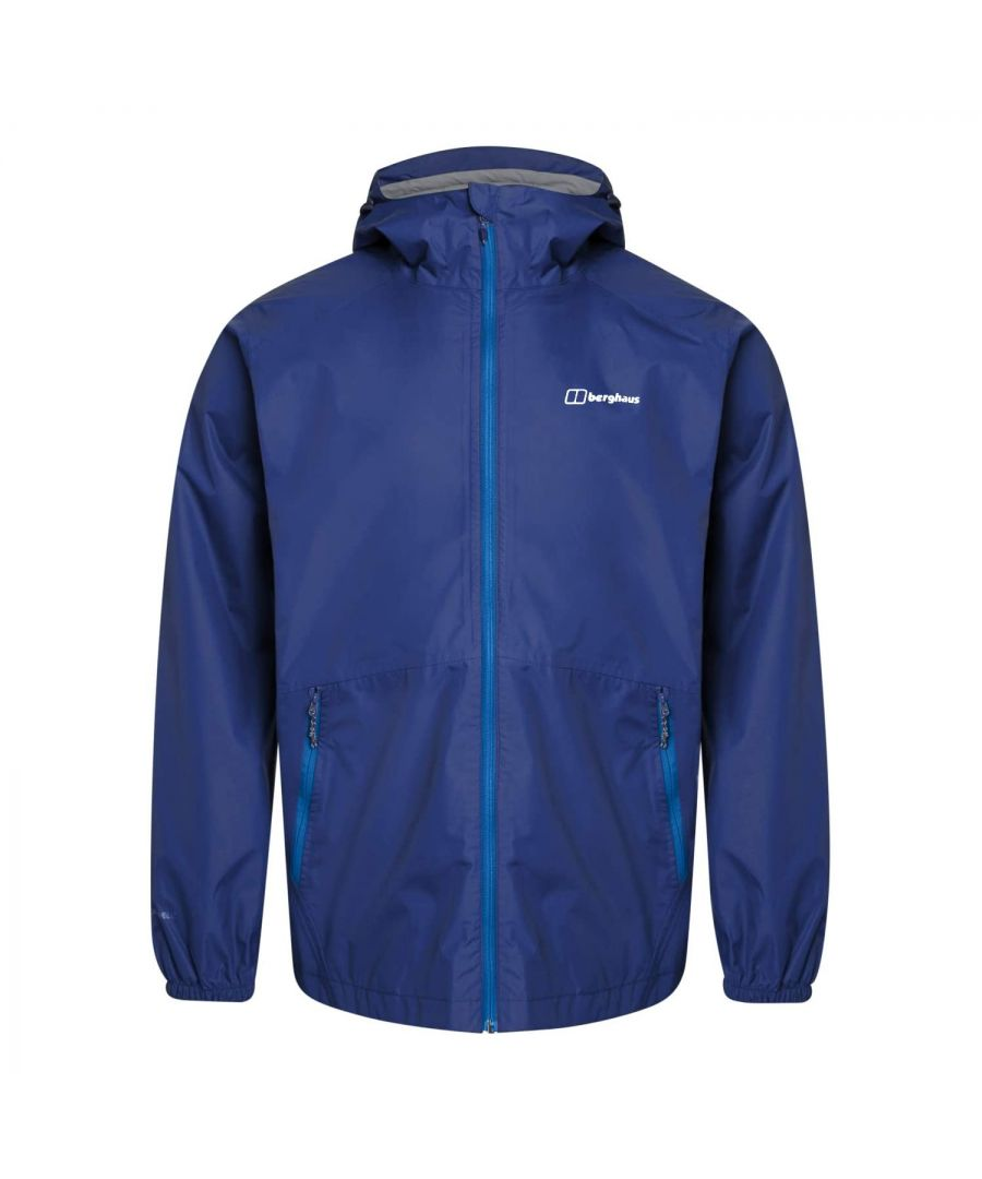 Image for Berghaus Deluge Light Mens Waterproof Jacket Blue - XXL