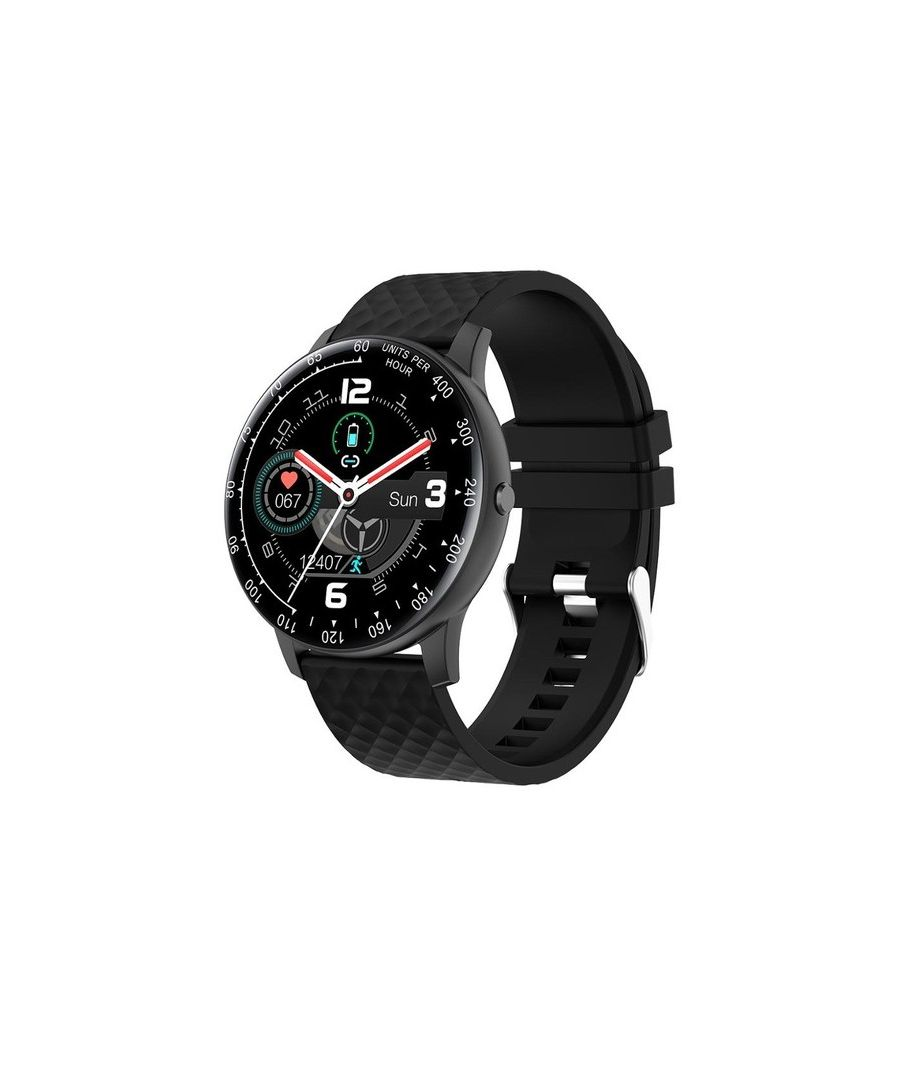 Image for Smartwatch 1.3 Inch Full Touch  - Black