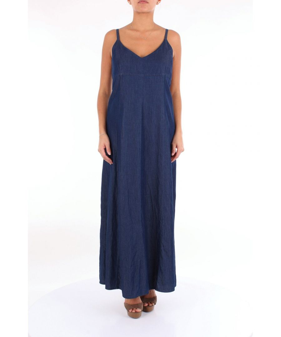 Image for ALTEA WOMEN'S 1956505BLUJEANS BLUE SYNTHETIC FIBERS DRESS