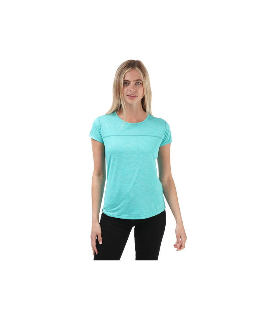Image for Women's Berghaus Voyager Tech T-Shirt Turquoise 8in Turquoise
