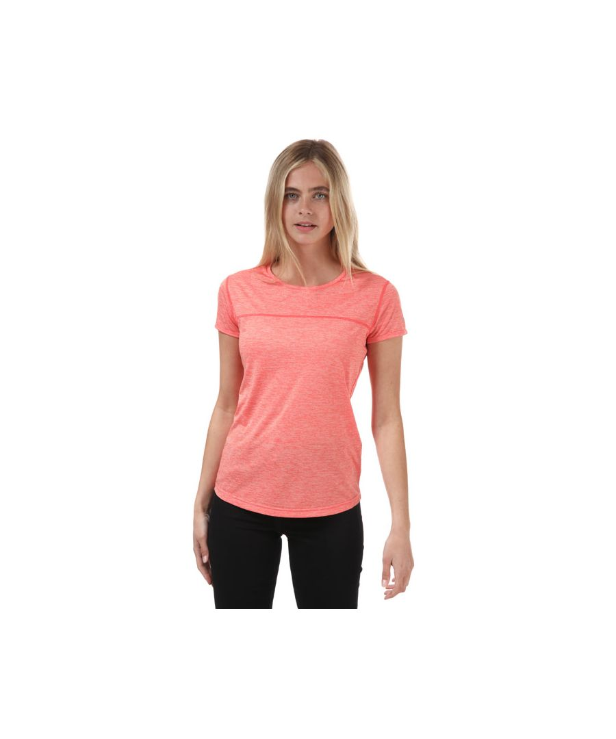 Image for Women's Berghaus Voyager Tech T-Shirt Pink 8in Pink