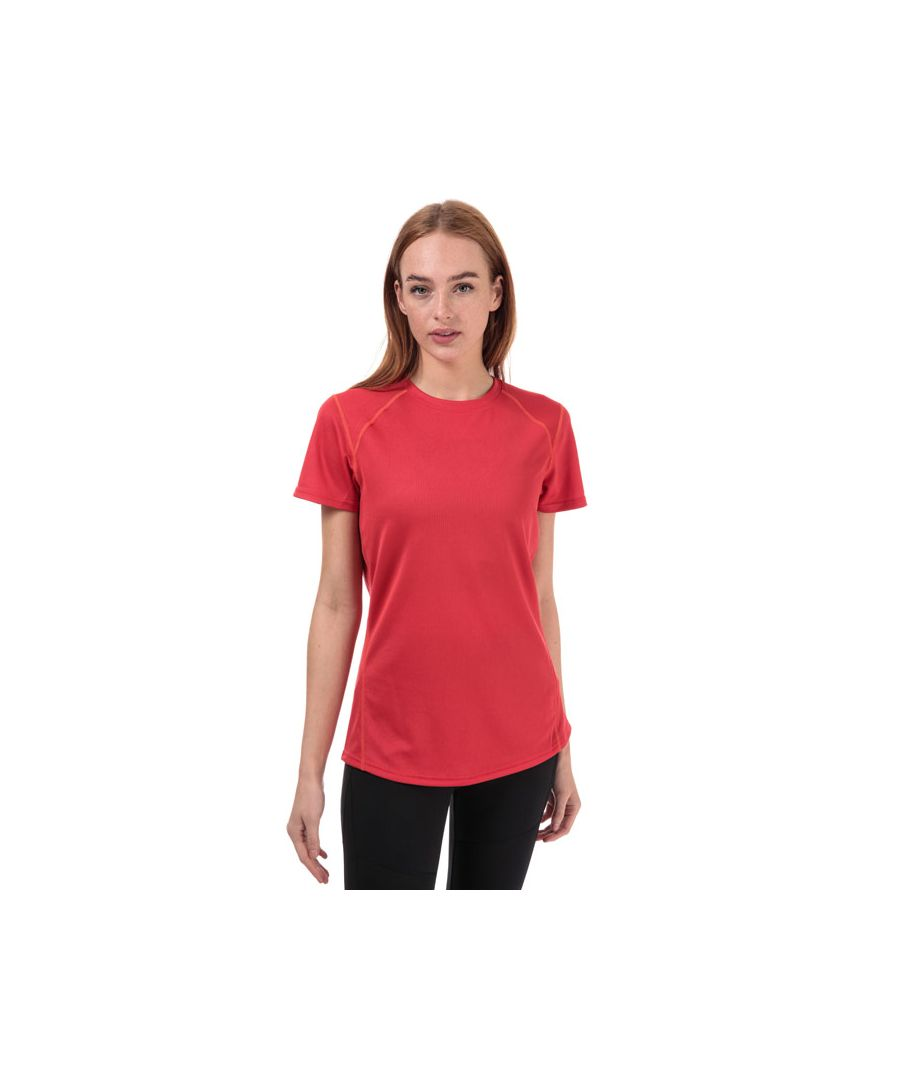 Image for Women's Berghaus Crew Neck 2.0 Tech T-Shirt in Pink