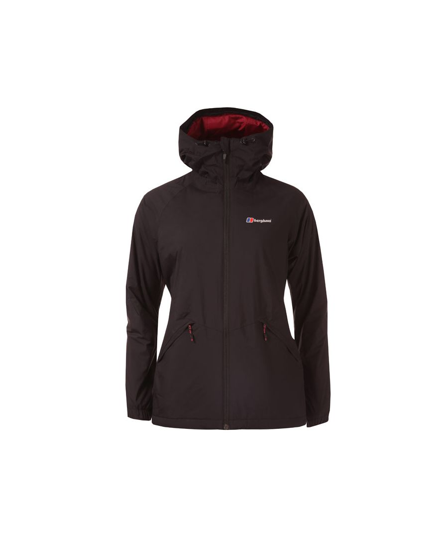Image for Women's Berghaus Deluge Pro Insulated Waterproof Jacket in Black