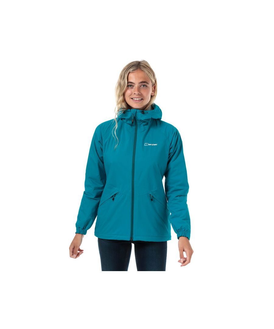 Image for Women's Berghaus Deluge Pro Insulated Waterproof Jacket in Turquoise