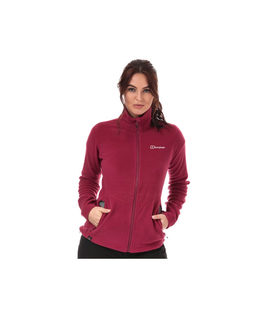 Image for Women's Berghaus Prism Micro Interactive Fleece in Pink