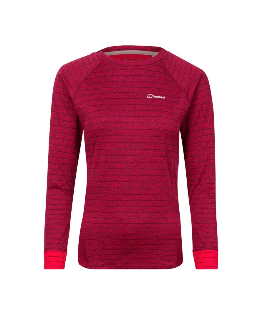 Image for Berghaus Thermal Tech Womens Crew Sweatshirt Pink - UK 16