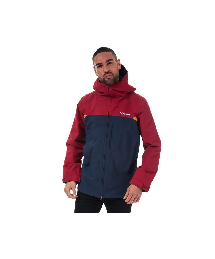 Image for Men's Berghaus Chombu Shell Jacket in Navy Red