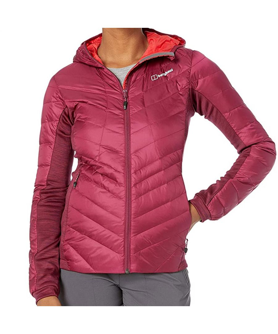 Image for Berghaus Tephra Stretch Reflect Down Womens Insulated Jacket Pink