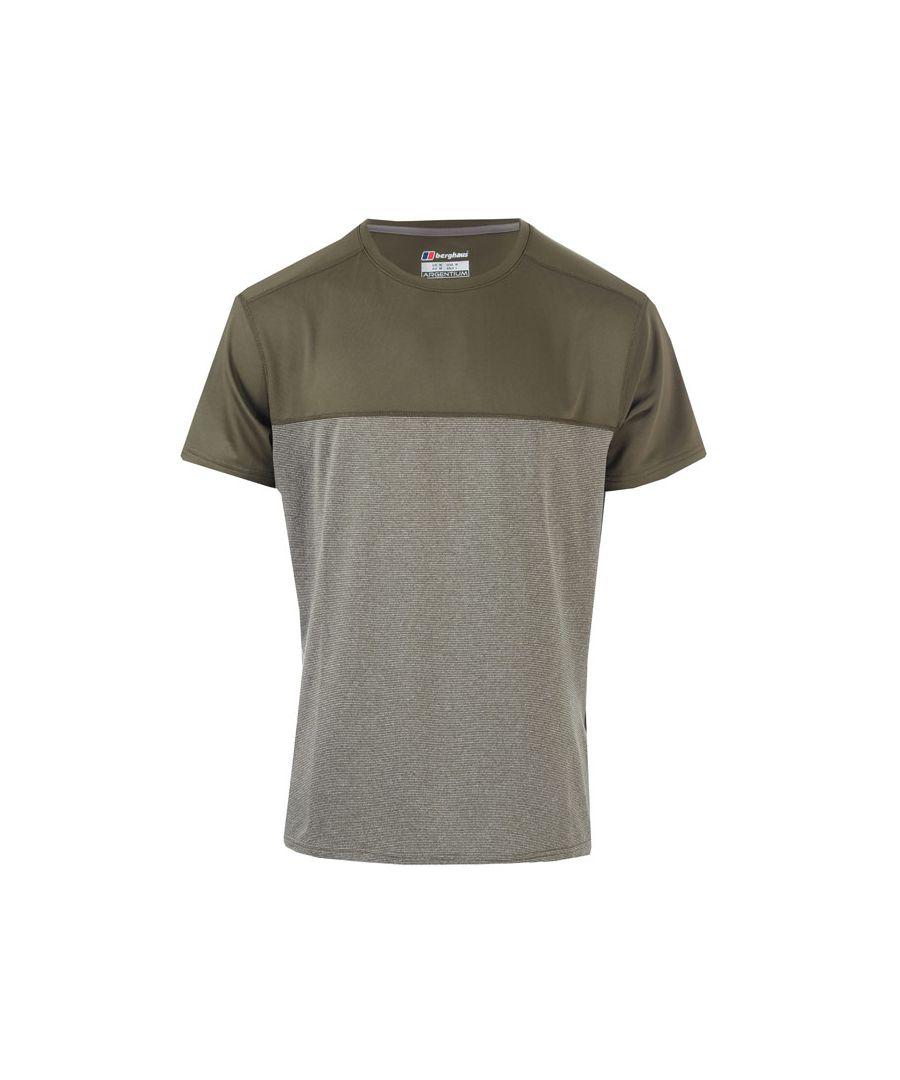 Image for Men's Berghaus Voyager Base Crew T-Shirt in Khaki