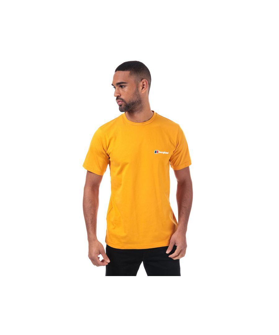 Image for Men's Berghaus Corporate Logo T-Shirt in Natural