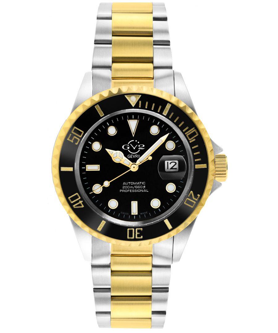 Image for GV2 42257 Mens Liguria Swiss Automatic Watch