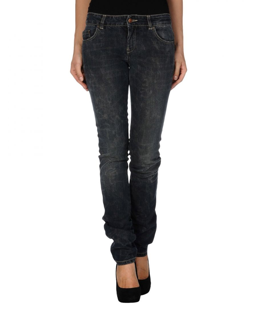 Image for Richmond Denim Blue Cotton Denim trousers