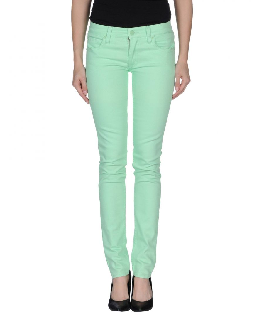 Image for Cheap Monday Light Green Cotton Skinny Jeans