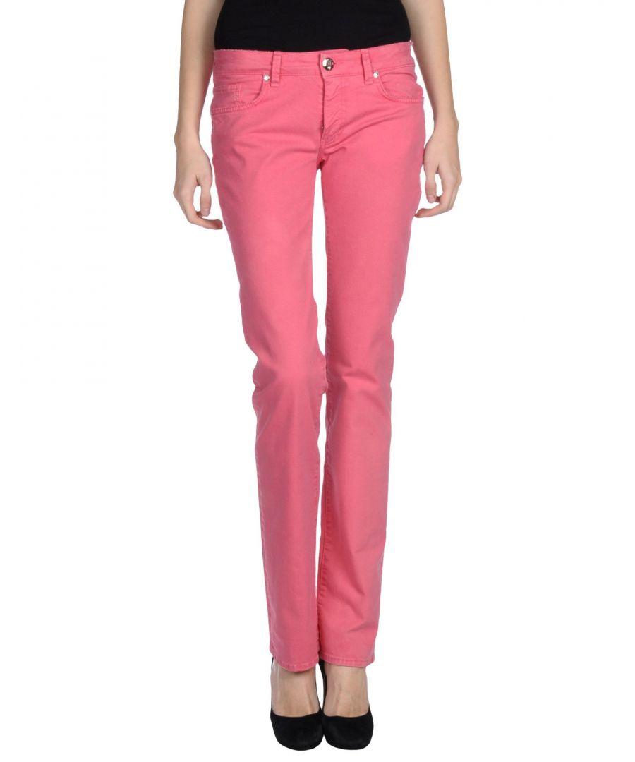 Image for Blugirl Blumarine Coral Cotton Straight Leg Jeans