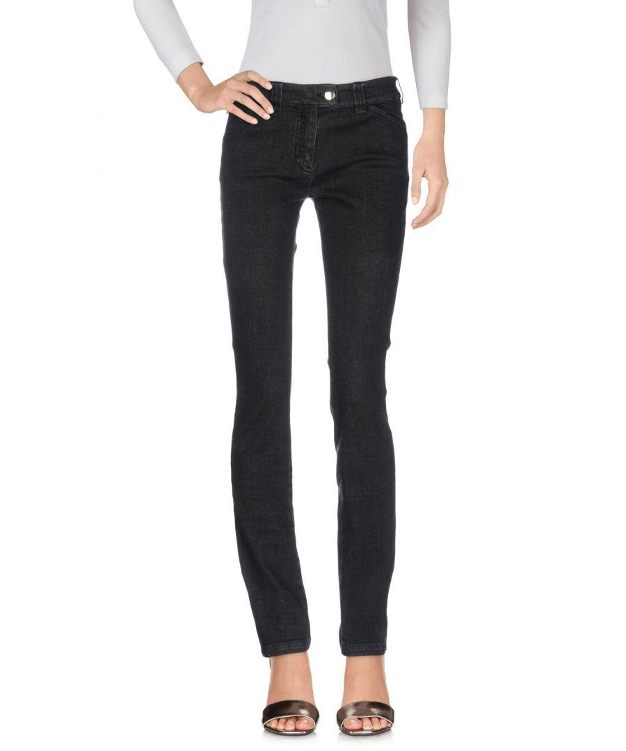 Image for Balenciaga Black Denim Slim Fit Jeans
