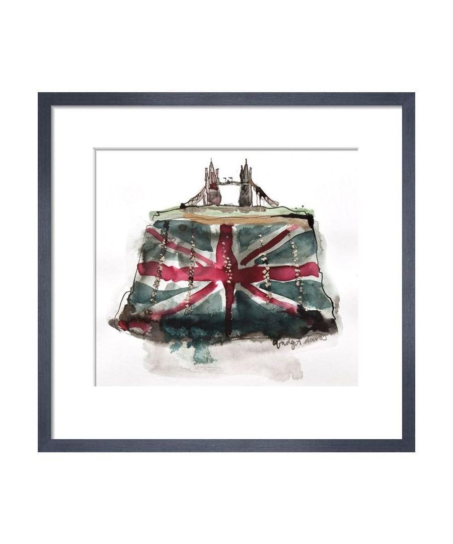Image for Tower Bridge Clutch by Bridget Davies
