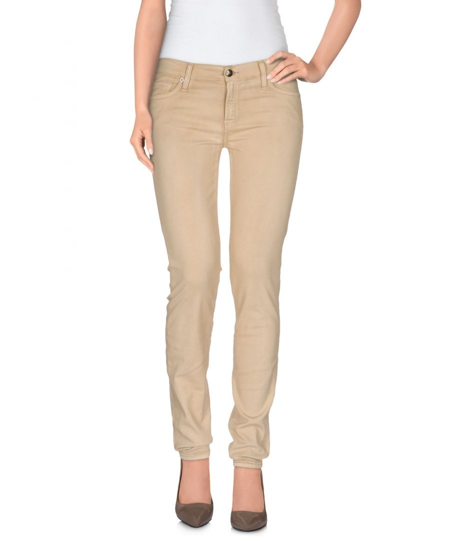 Image for DENIM 7 For All Mankind Beige Woman Cotton