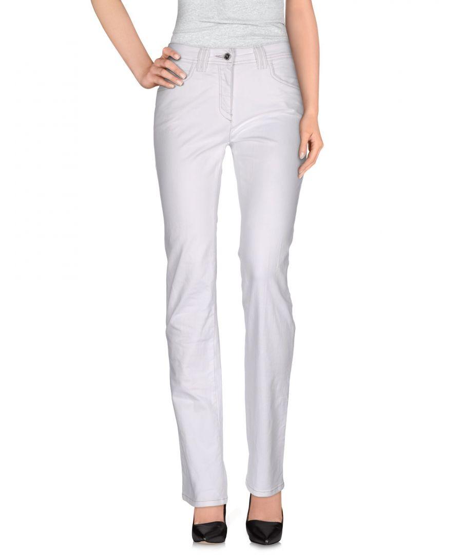 Image for DENIM Trussardi Jeans White Woman Cotton