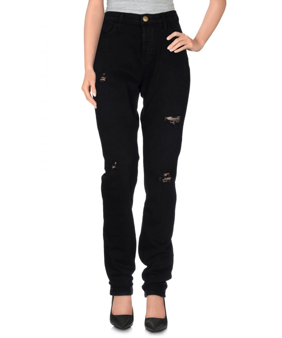 Image for Current/Elliott Black Cotton Jeans