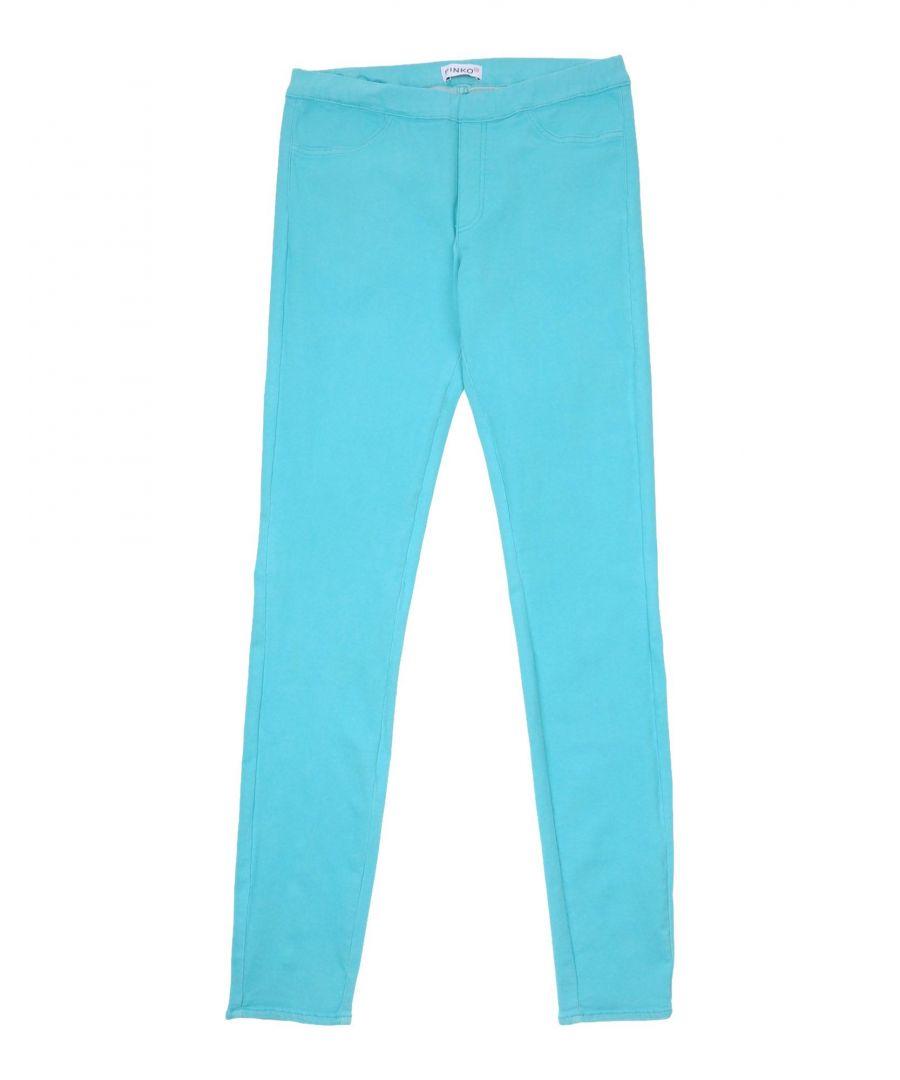 Image for DENIM Pinko Up Turquoise Girl Cotton