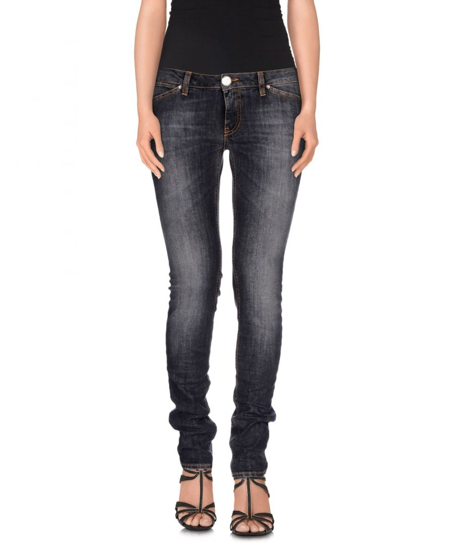 Image for Pinko Black Cotton Skinny Jeans