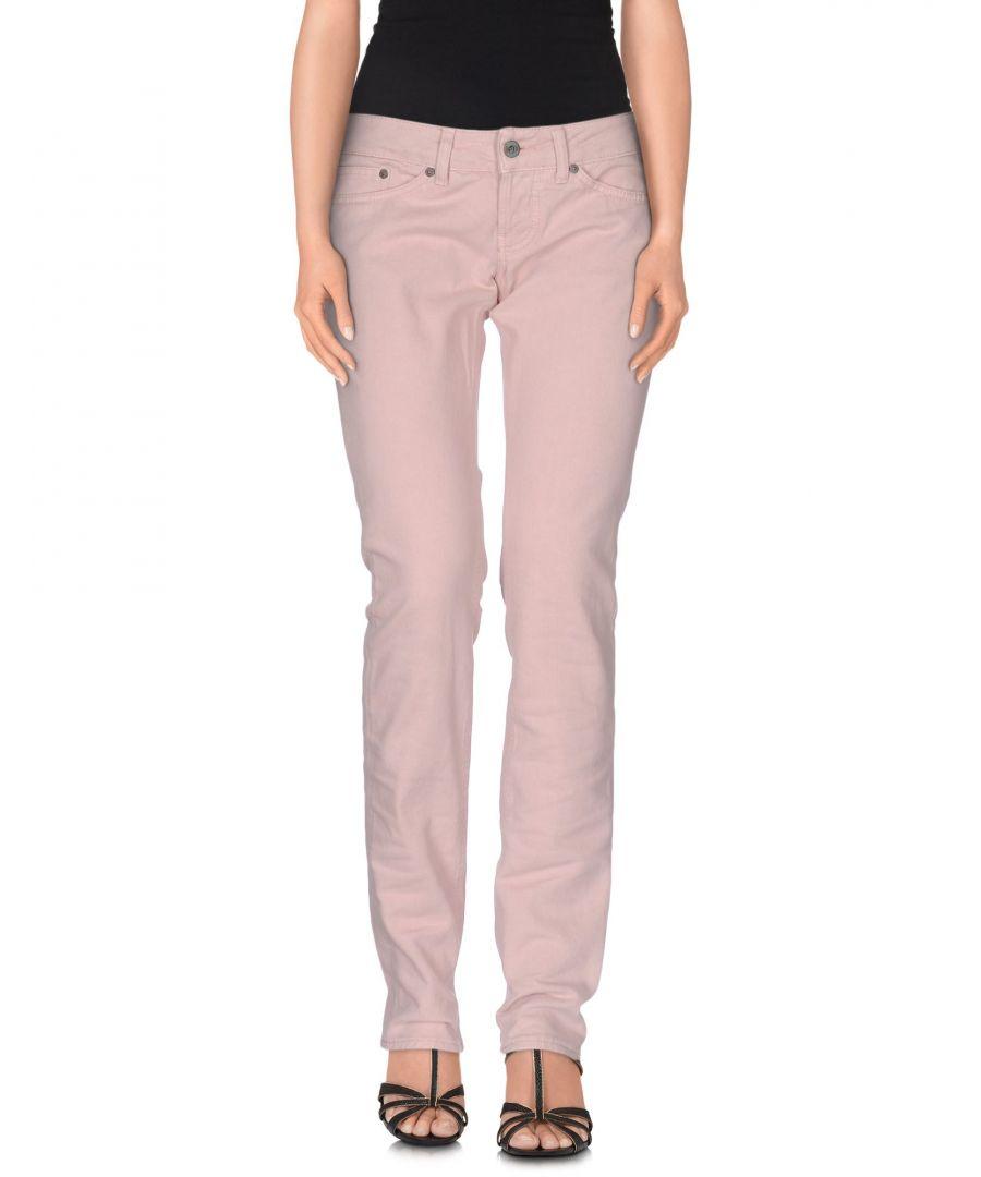Image for Denim Women's Dondup Light Pink Cotton
