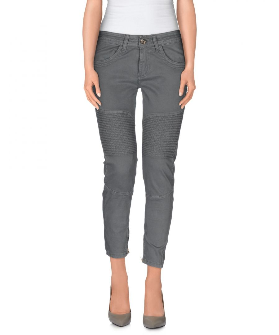 Image for Annarita N Grey Cotton Trousers