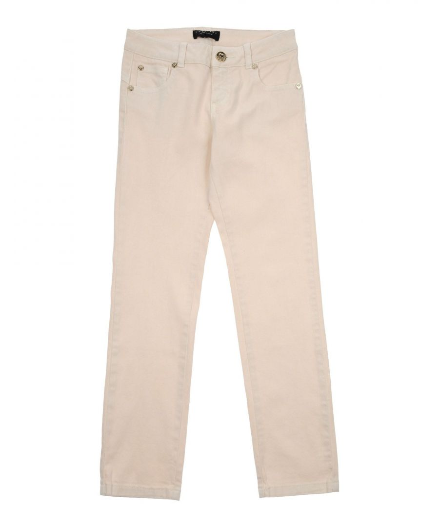 Image for DENIM Twinset Beige Girl Cotton