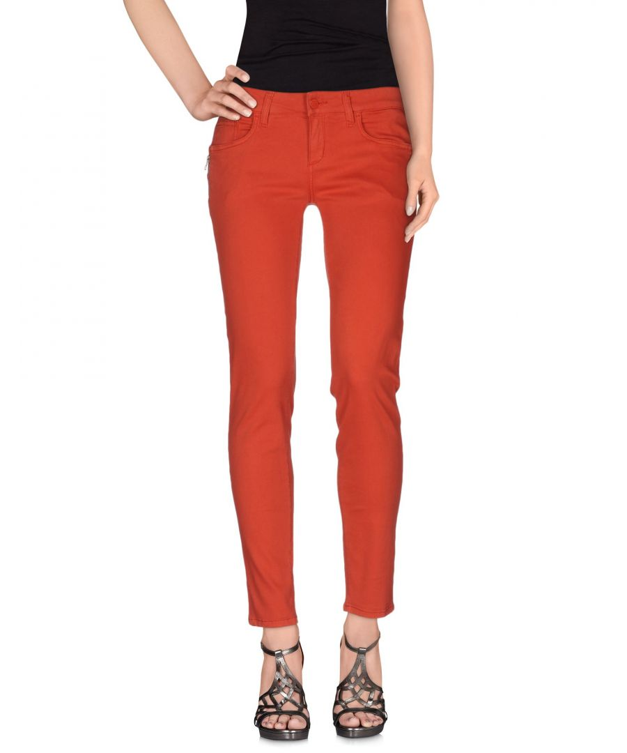 Image for Liu Jo Rust Cotton Jeans