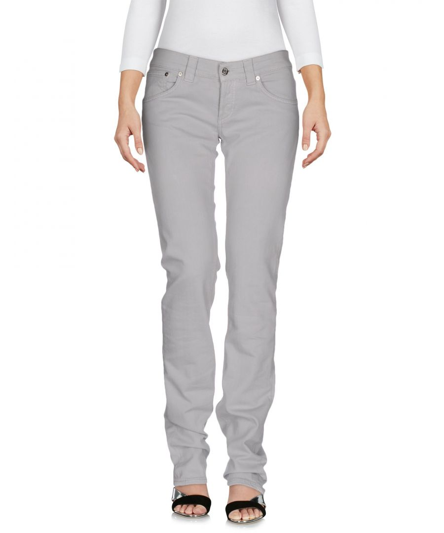 Image for Dondup Light Grey Cotton Jeans