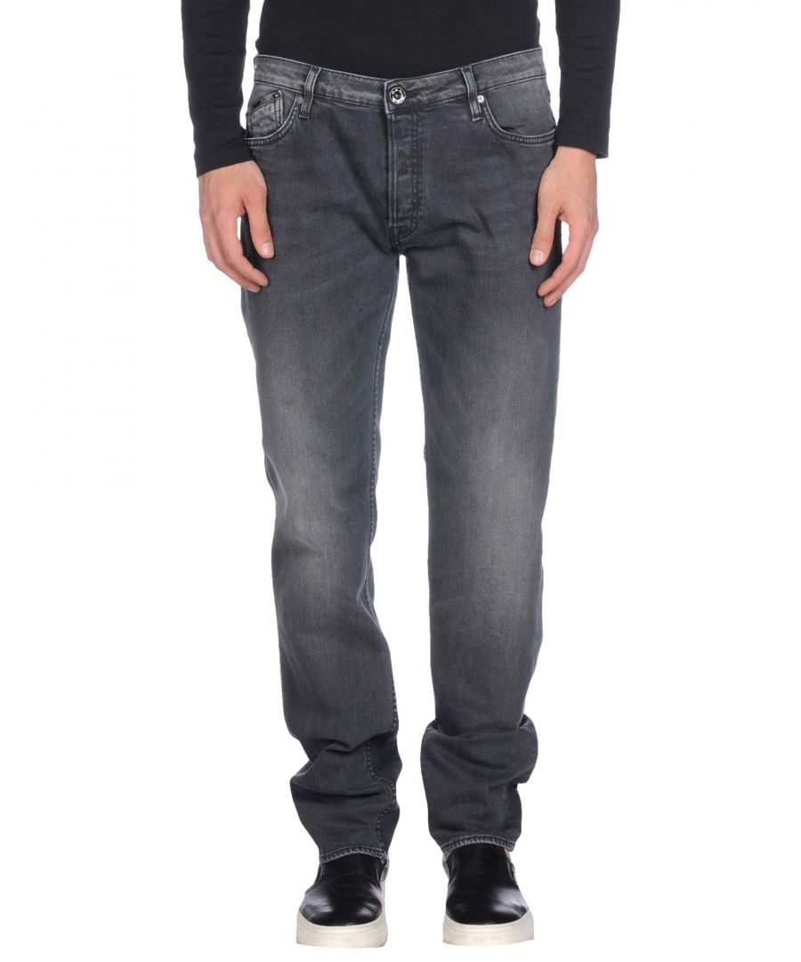 Image for Gas Black Cotton Jeans