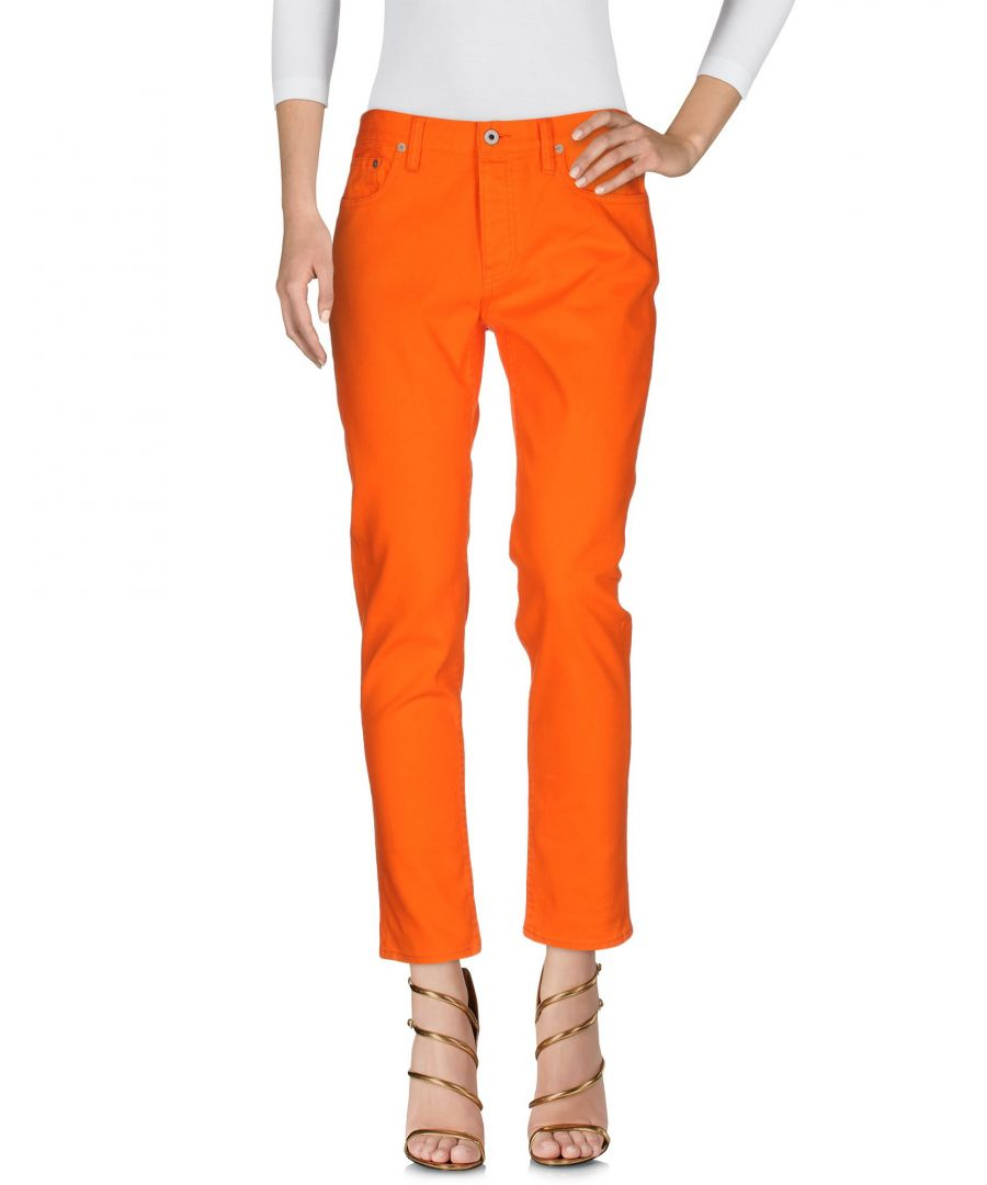 Image for Polo Ralph Lauren Orange Cotton Straight Leg Jeans