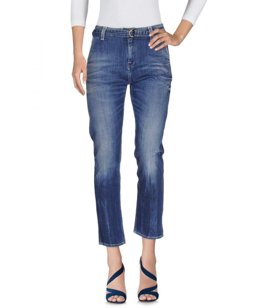 Image for Cycle Blue Cotton Cropped Jeans