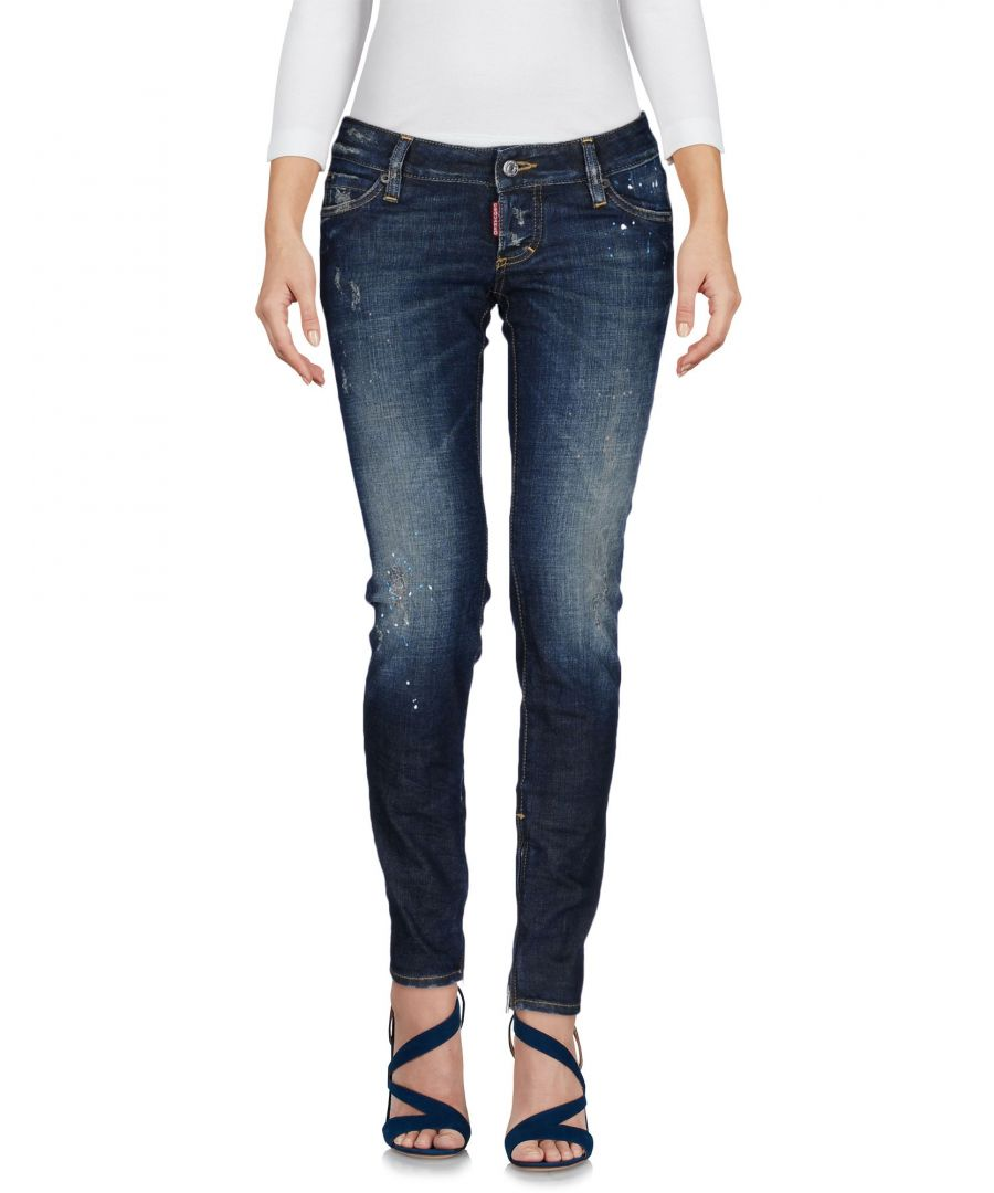 Image for Dsquared2 Blue Cotton Skinny Jeans