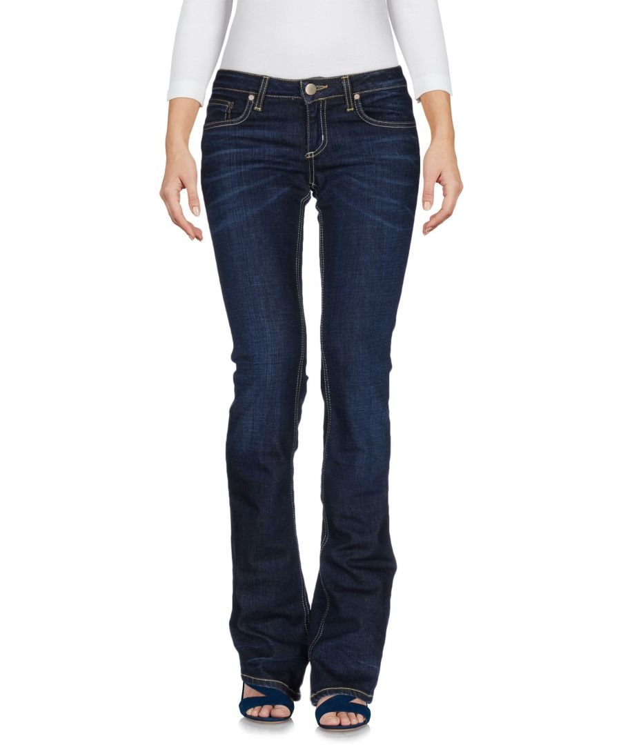 Image for Dondup Woman Blue Denim trousers