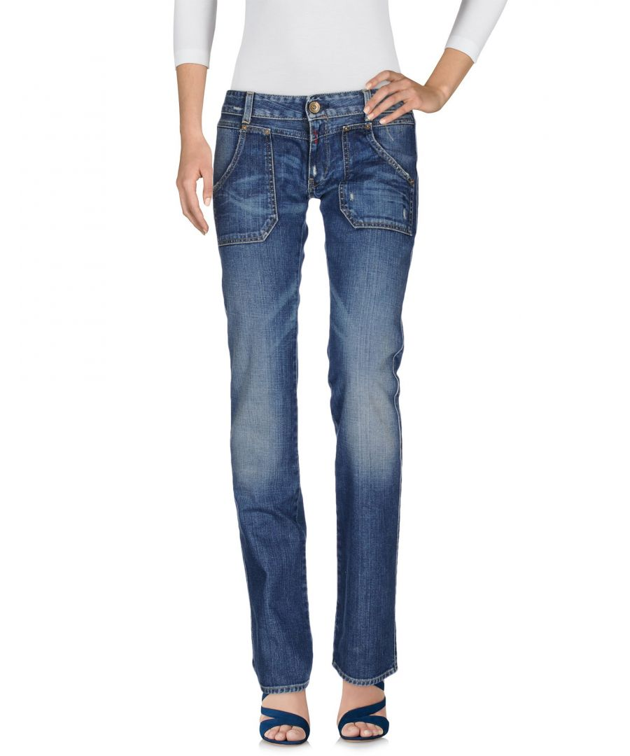 Image for Replay Blue Cotton Jeans