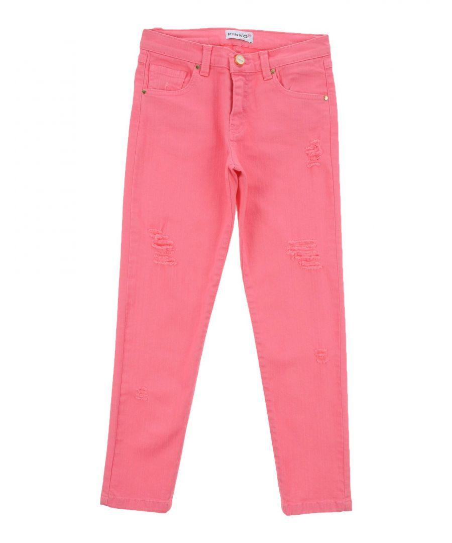 Image for DENIM Girl Pinko Up Light purple Cotton