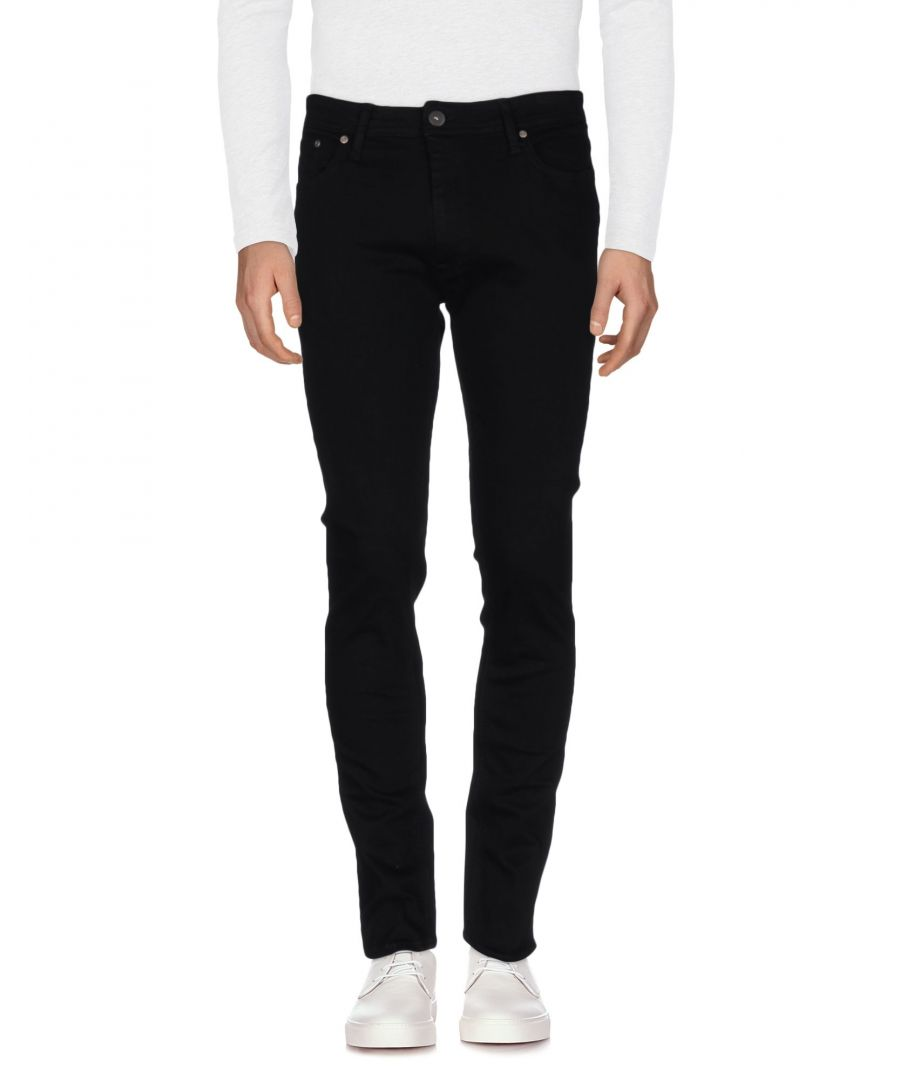 Image for Jack & Jones Black Cotton Denim trousers