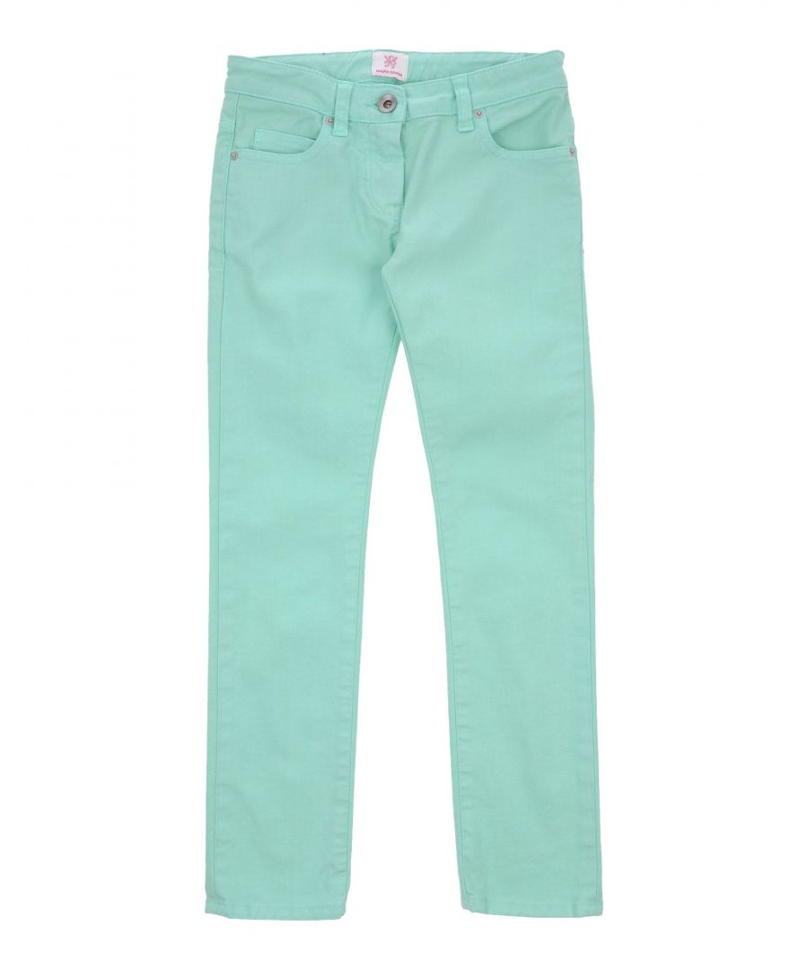 Image for Mauro Grifoni Light Green Denim Trousers