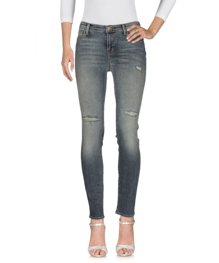 Image for J Brand Blue Cotton Straight Leg Jeans