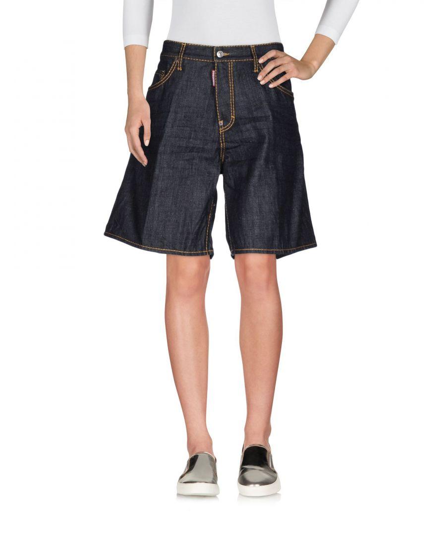 Image for Dsquared2 Blue Denim Shorts