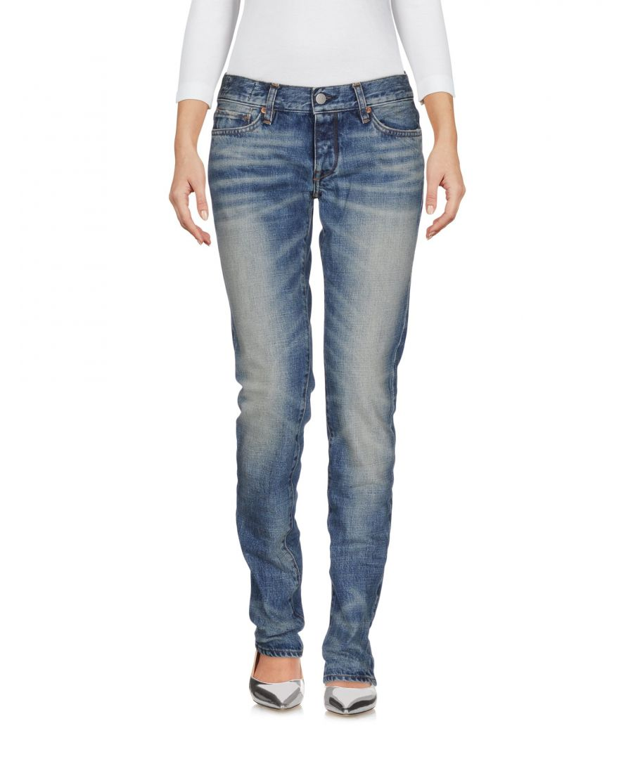 Image for Mauro Grifoni Blue Cotton Low Waisted Jeans