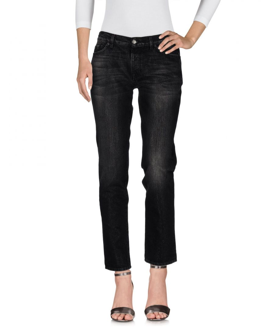 Image for DENIM 7 For All Mankind Black Woman Cotton