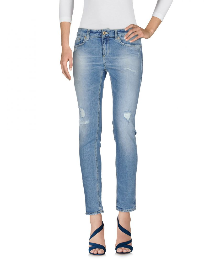 Image for Dondup Blue Cotton Jeans