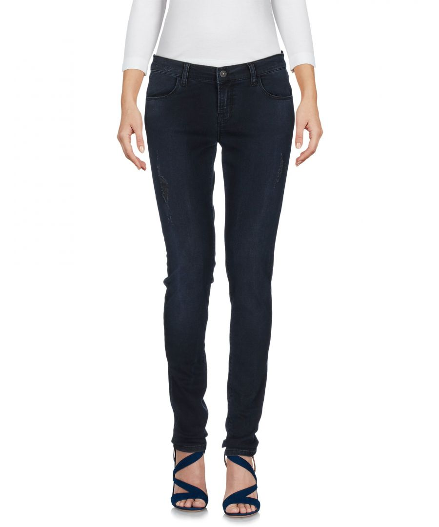 Image for Brian Dales & Ltb Blue Cotton Slim Fit Jeans