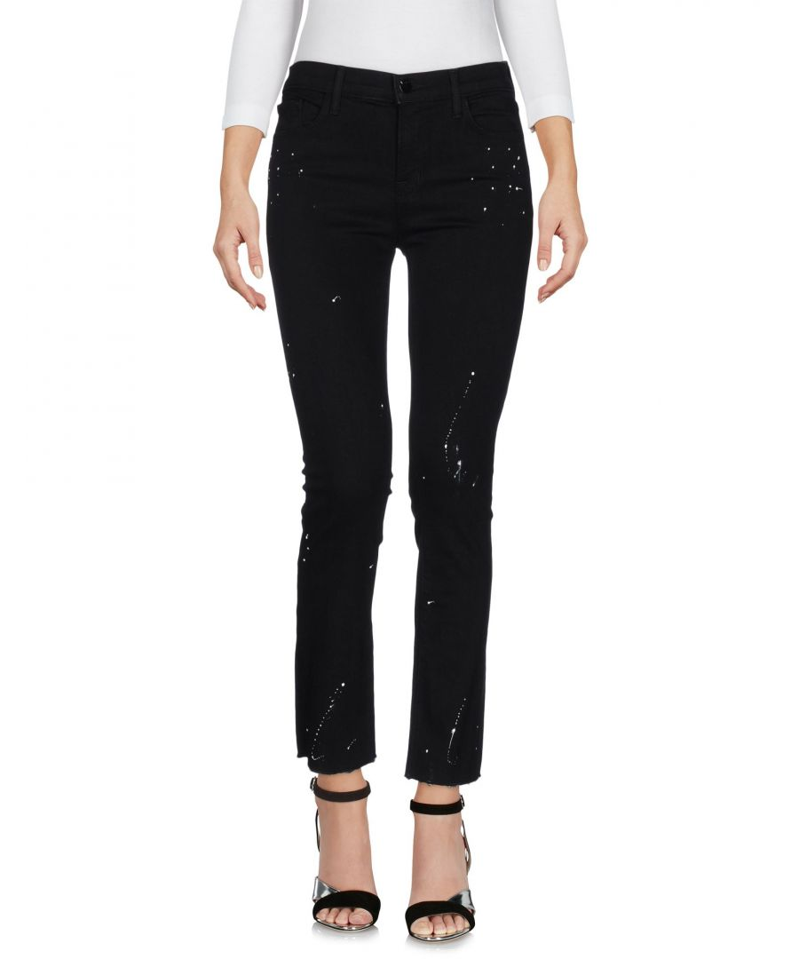 Image for J Brand Black Cotton Slim Fit Jeans