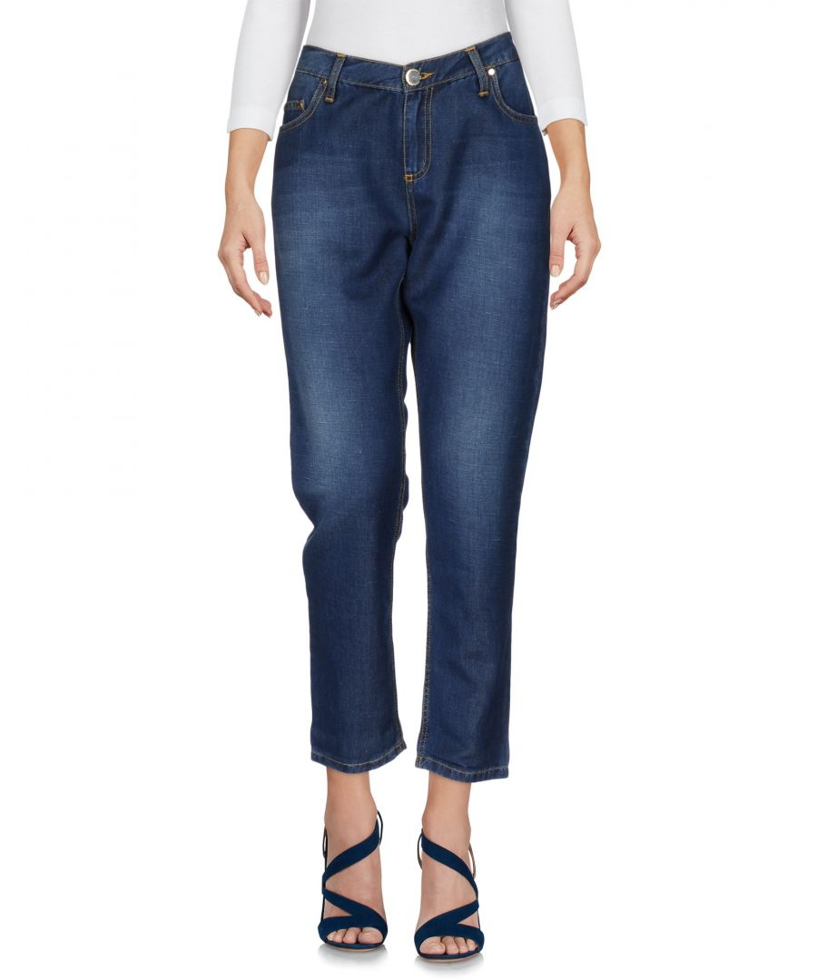 Image for Elisabetta Franchi Jeans Blue Cotton Jeans